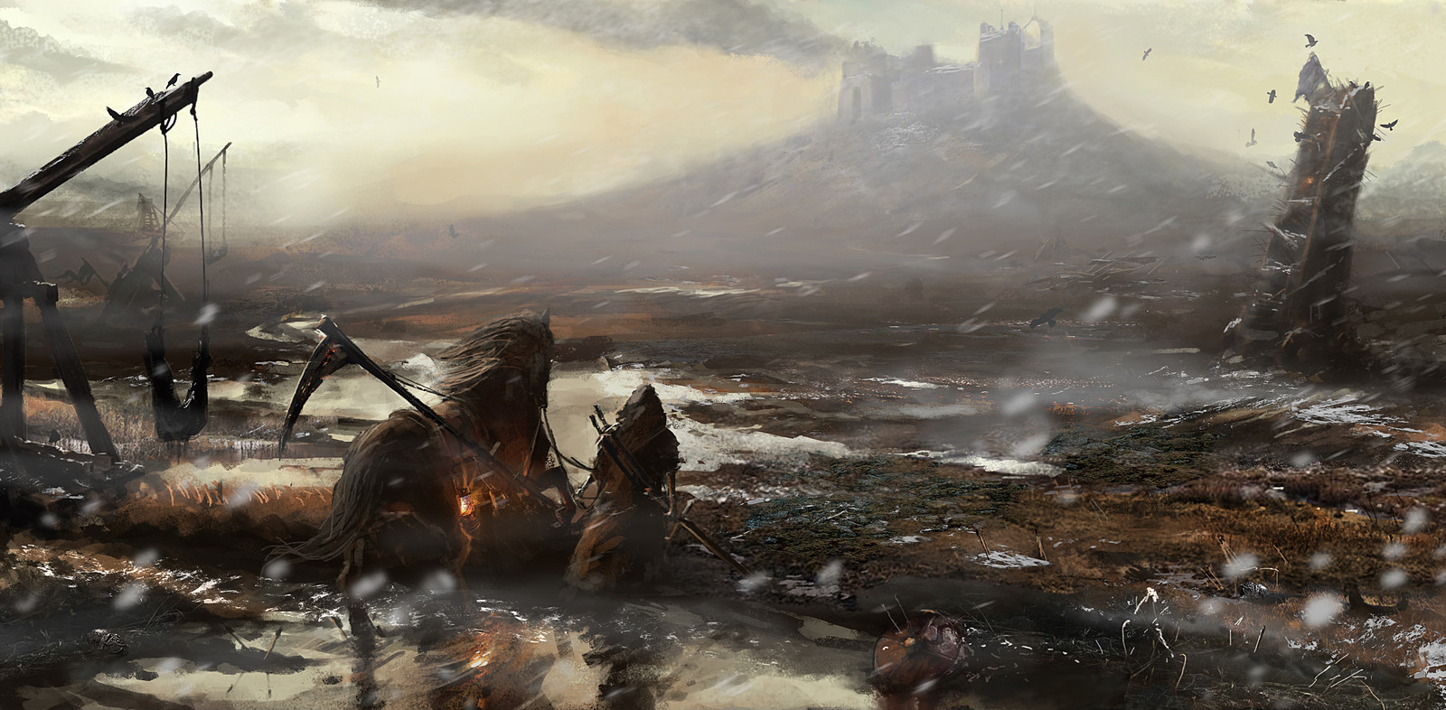 After the battle (Morning)