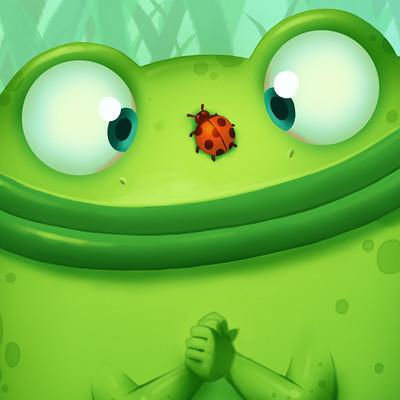 Edin durmisevic frog illustration final