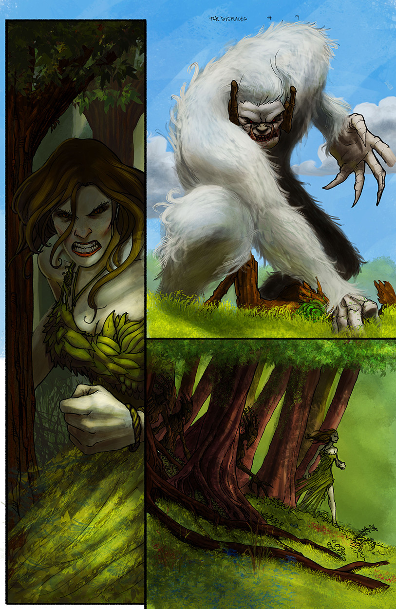 Amorphis vs Dryads!