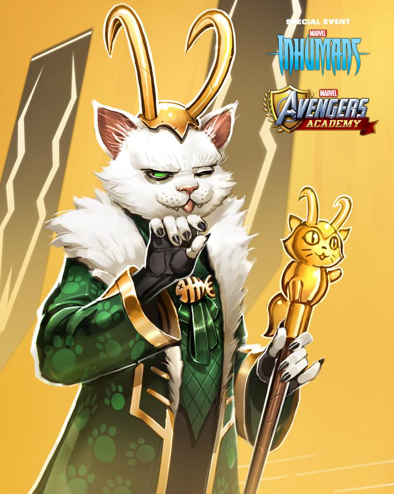 Cat Loki detail