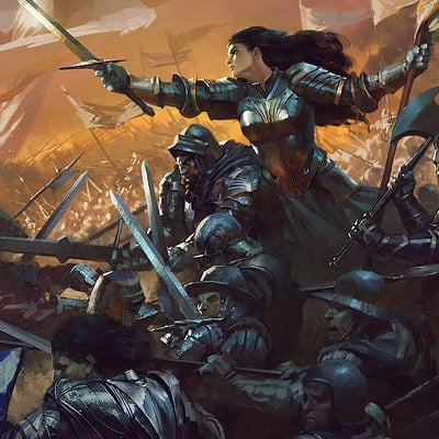 Bayard wu cover art joan of arc p