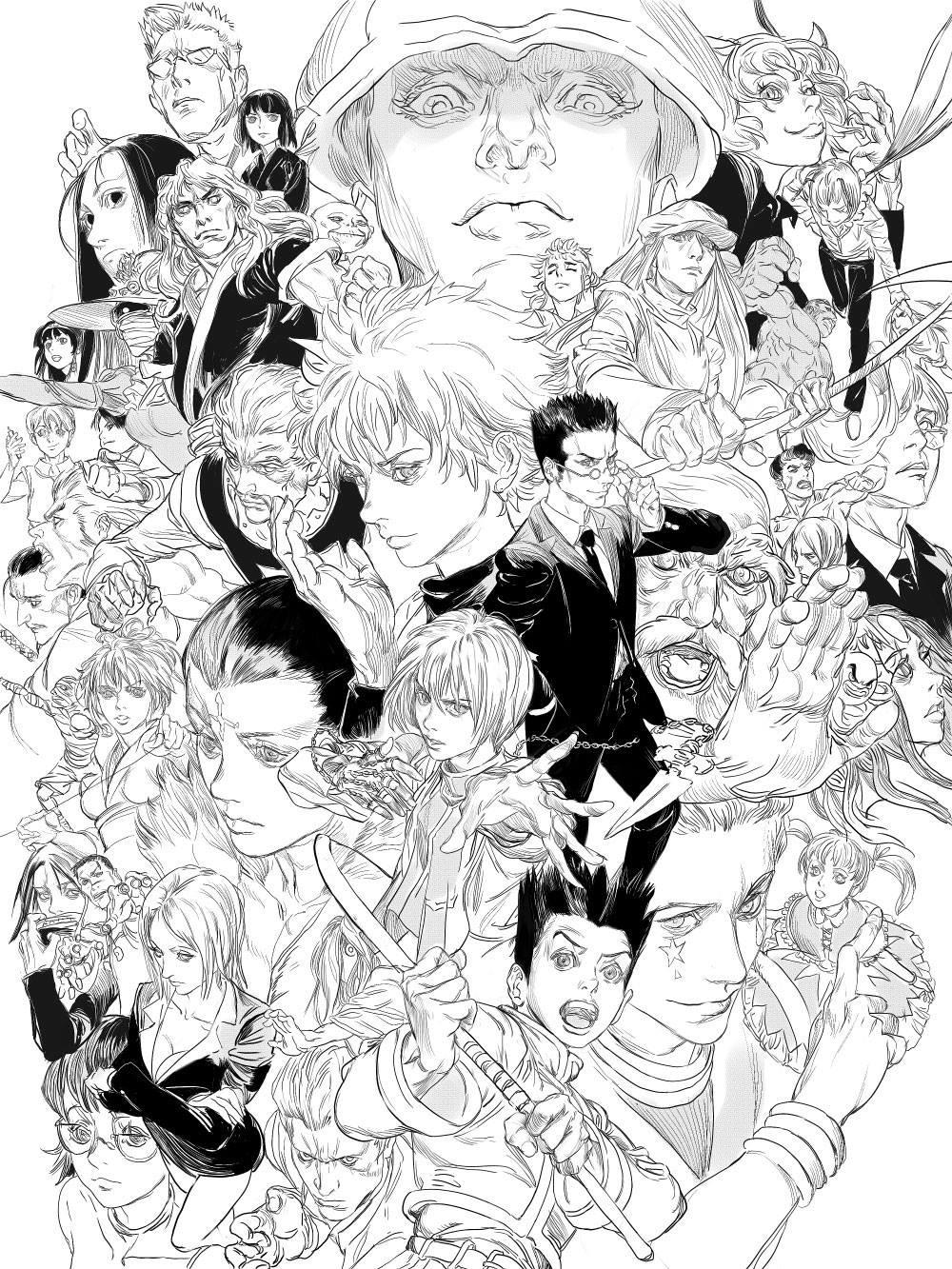 MICHAEL CHANG - ( 6 ) Hunter X Hunter( Fan Art )