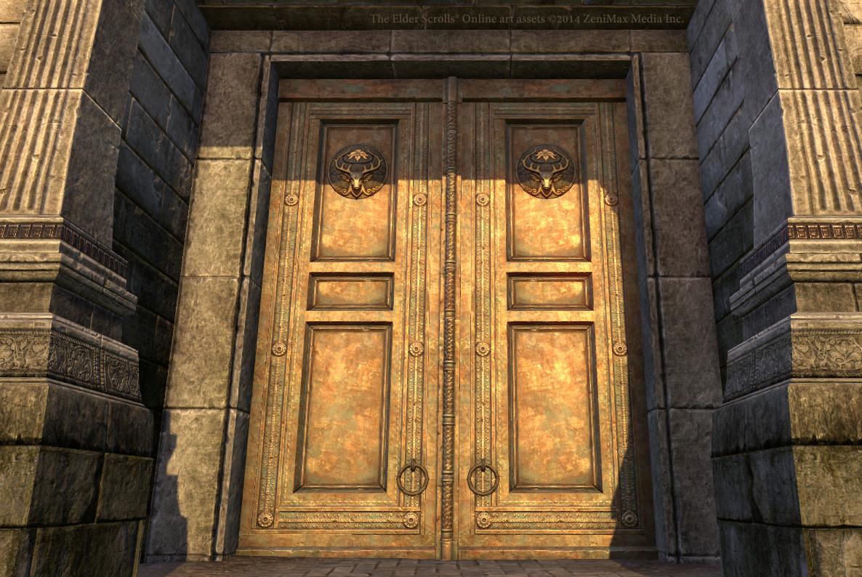 Nibenese large door