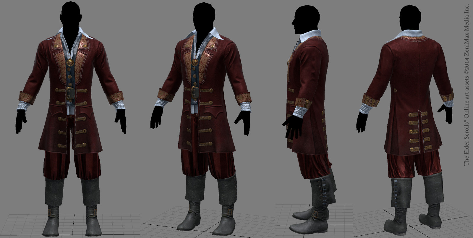 I designed this player costume from scratch