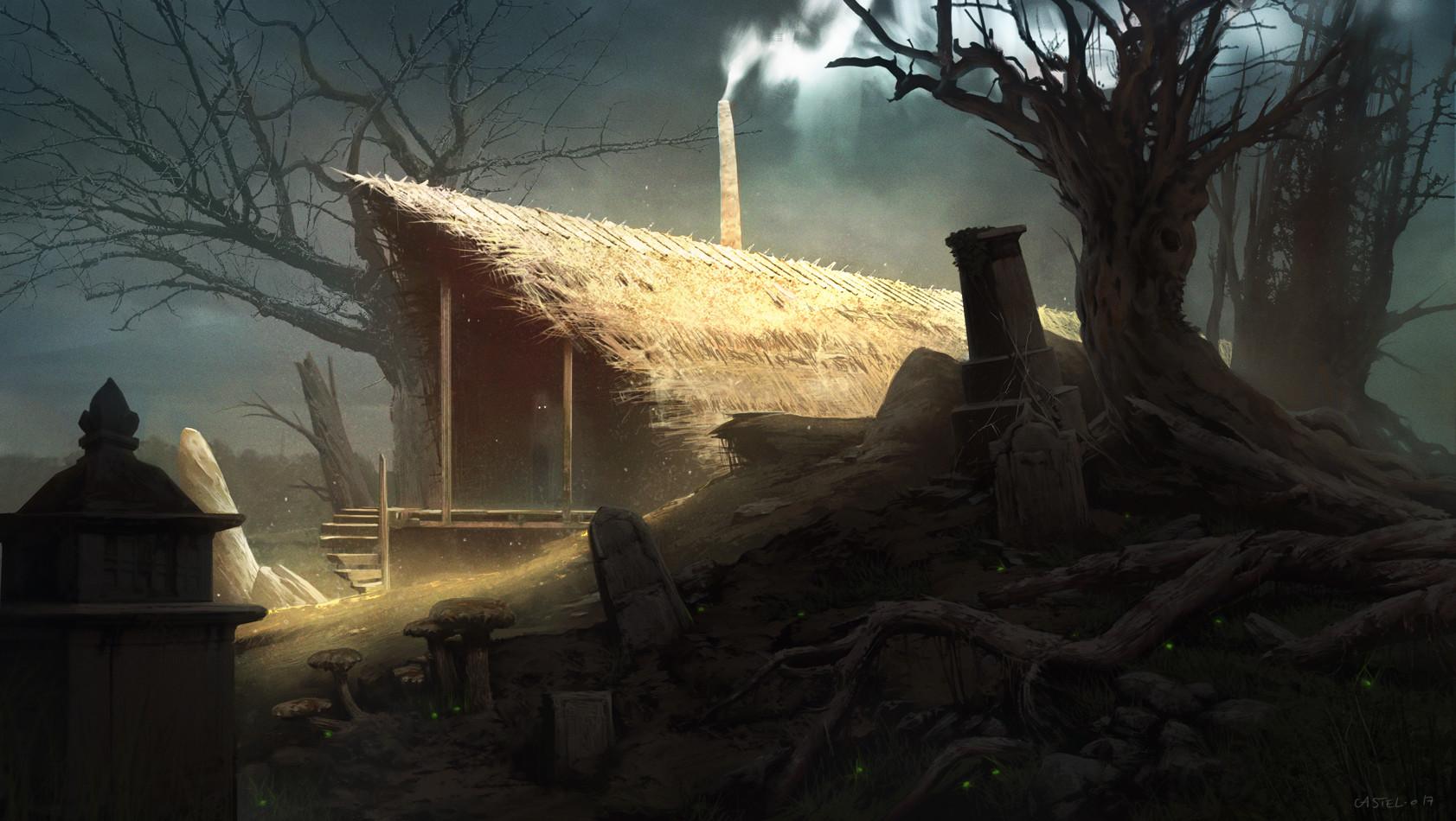 Quentin castel witch s lair artstation