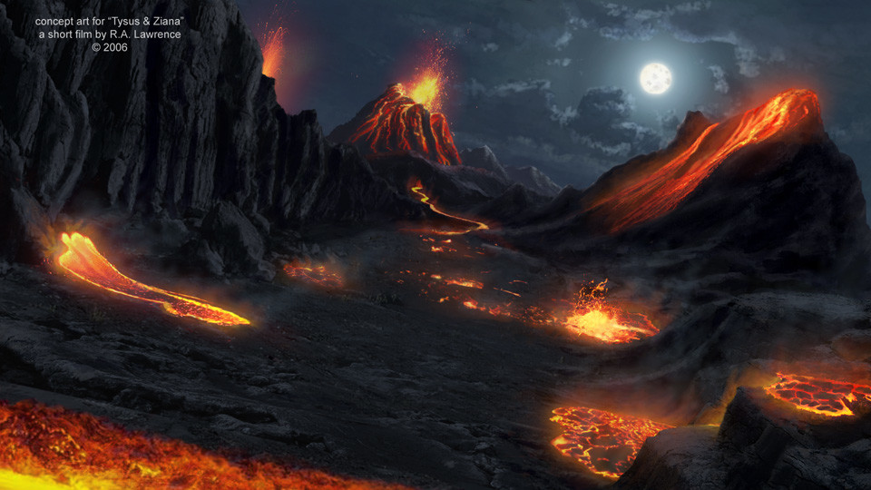 The Lava Pits