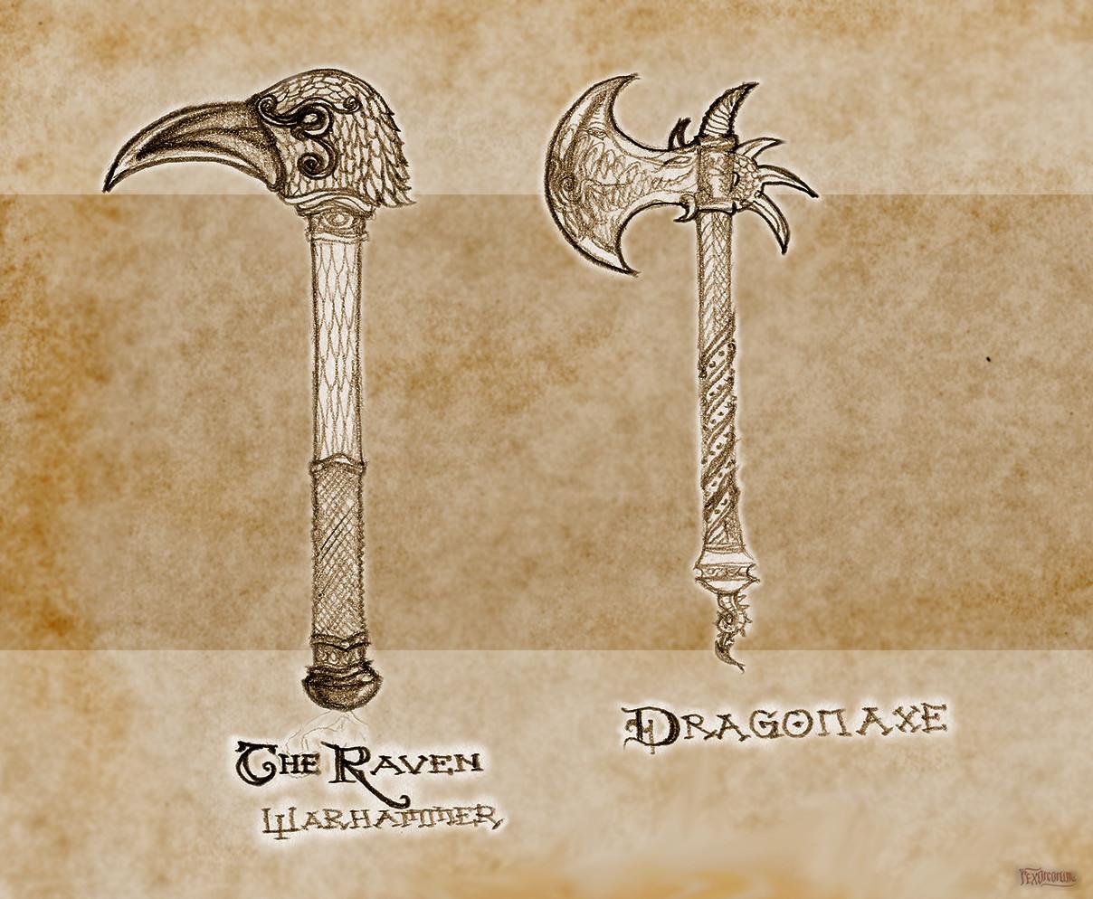 Deco weapons (pencil)