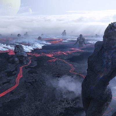 Greg semkow lava field