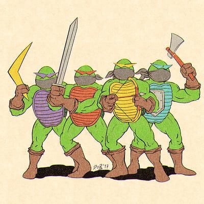 Pablo romero tortugas ninjap