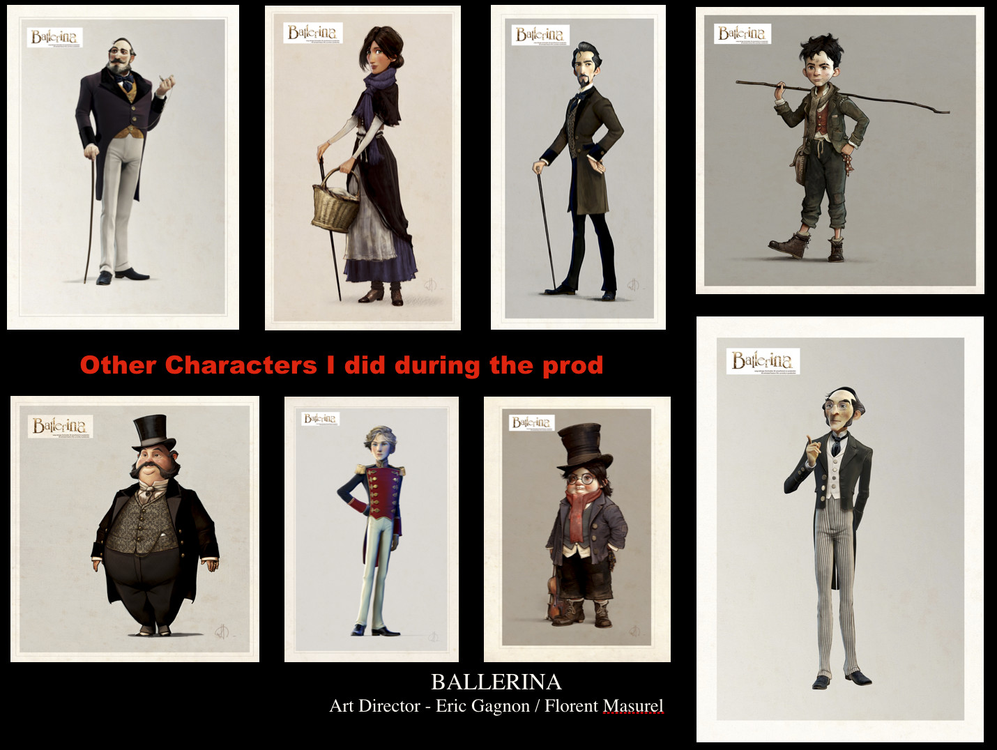 A part of the character that i have created for the Movie
