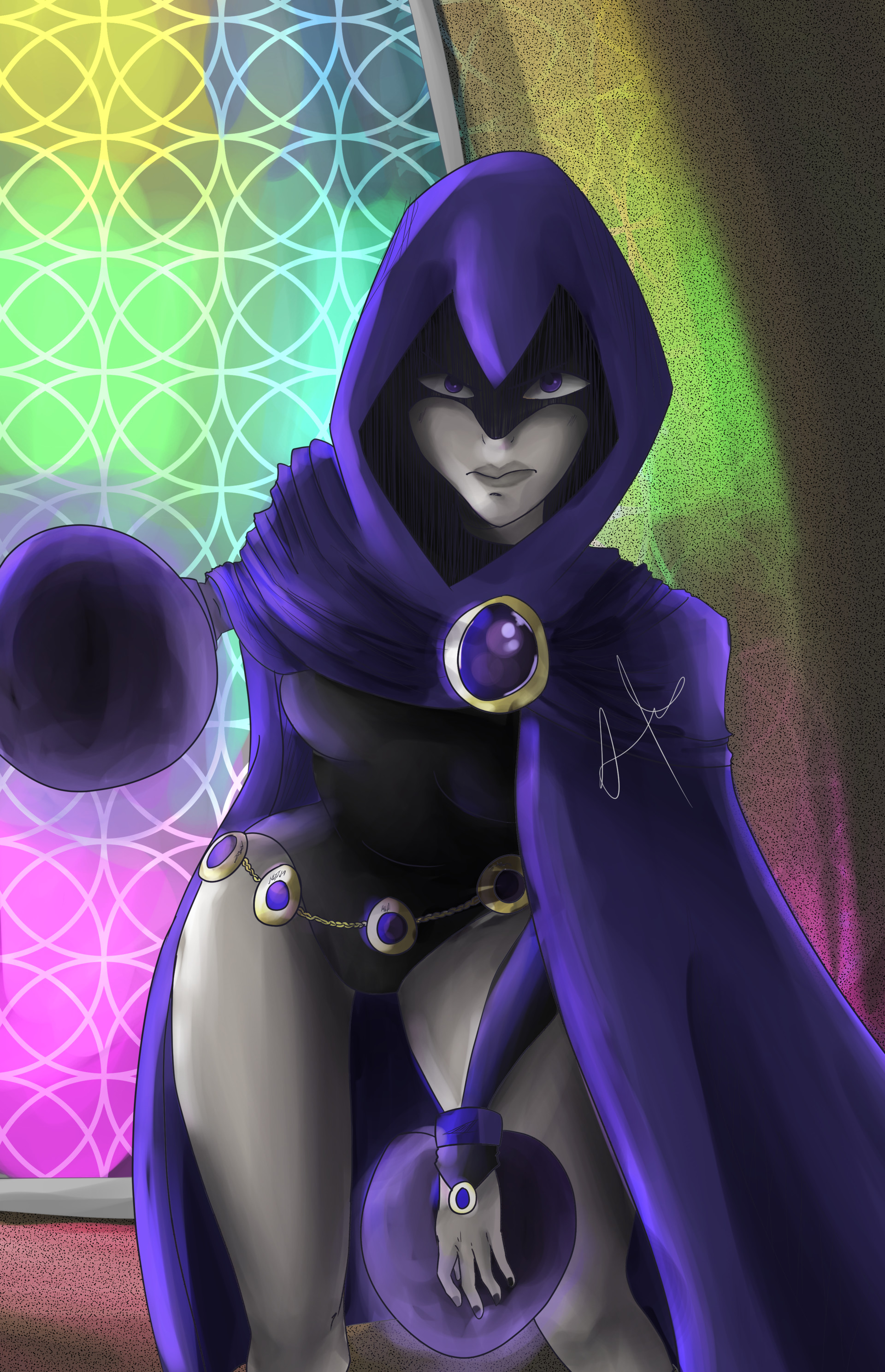 Raven Of Teen Titans Fan Art - Pornography Pic-1266