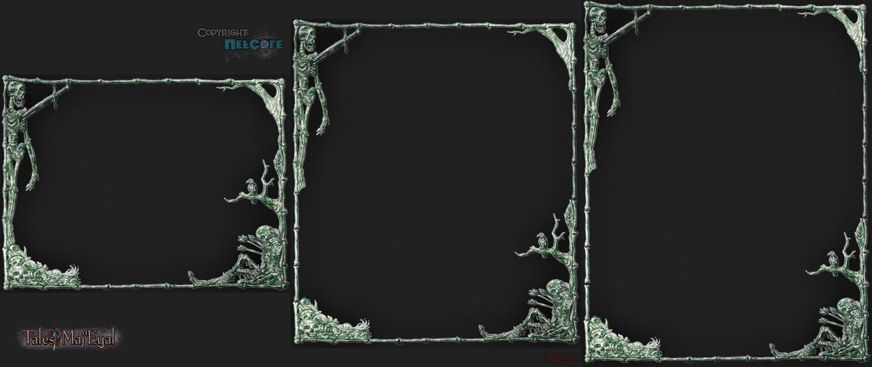 Frame tiling  - minimal size and bigger ones