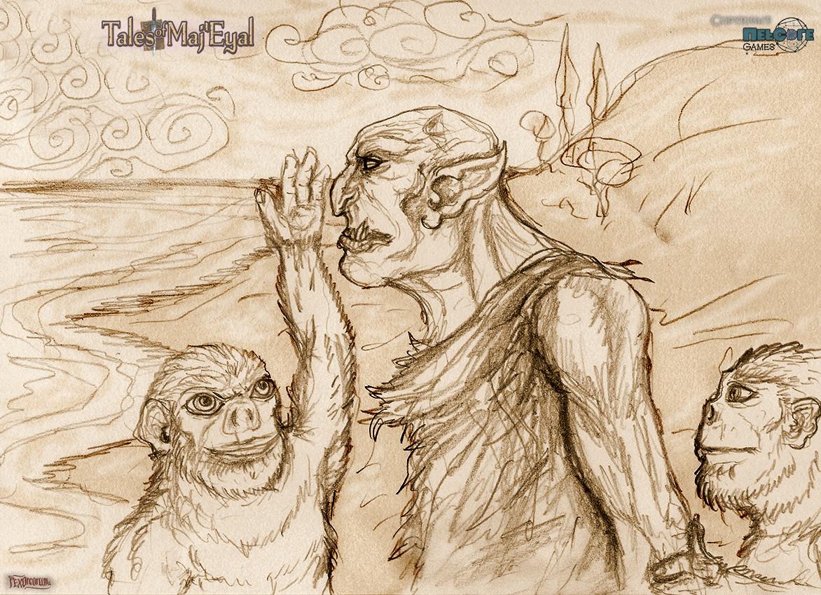 Brainwashing some orcs