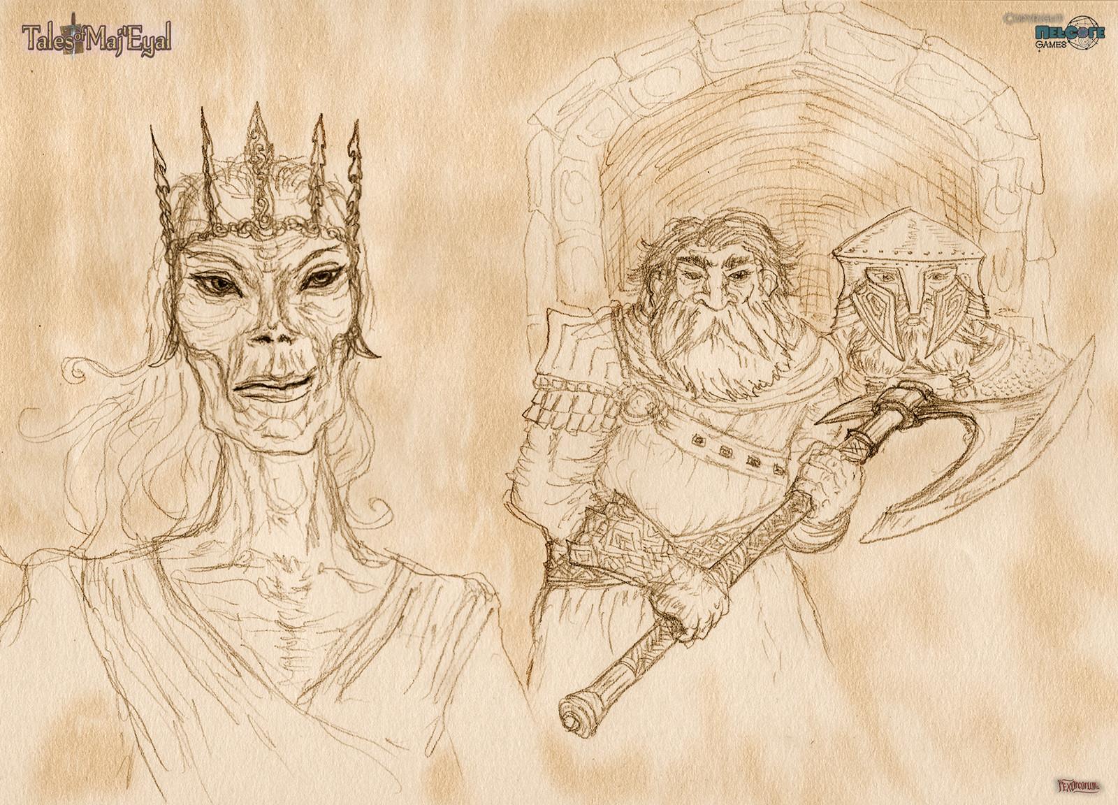 Lich and Dwarf budies