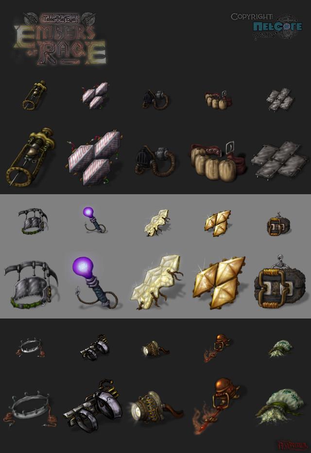 Various tinkers