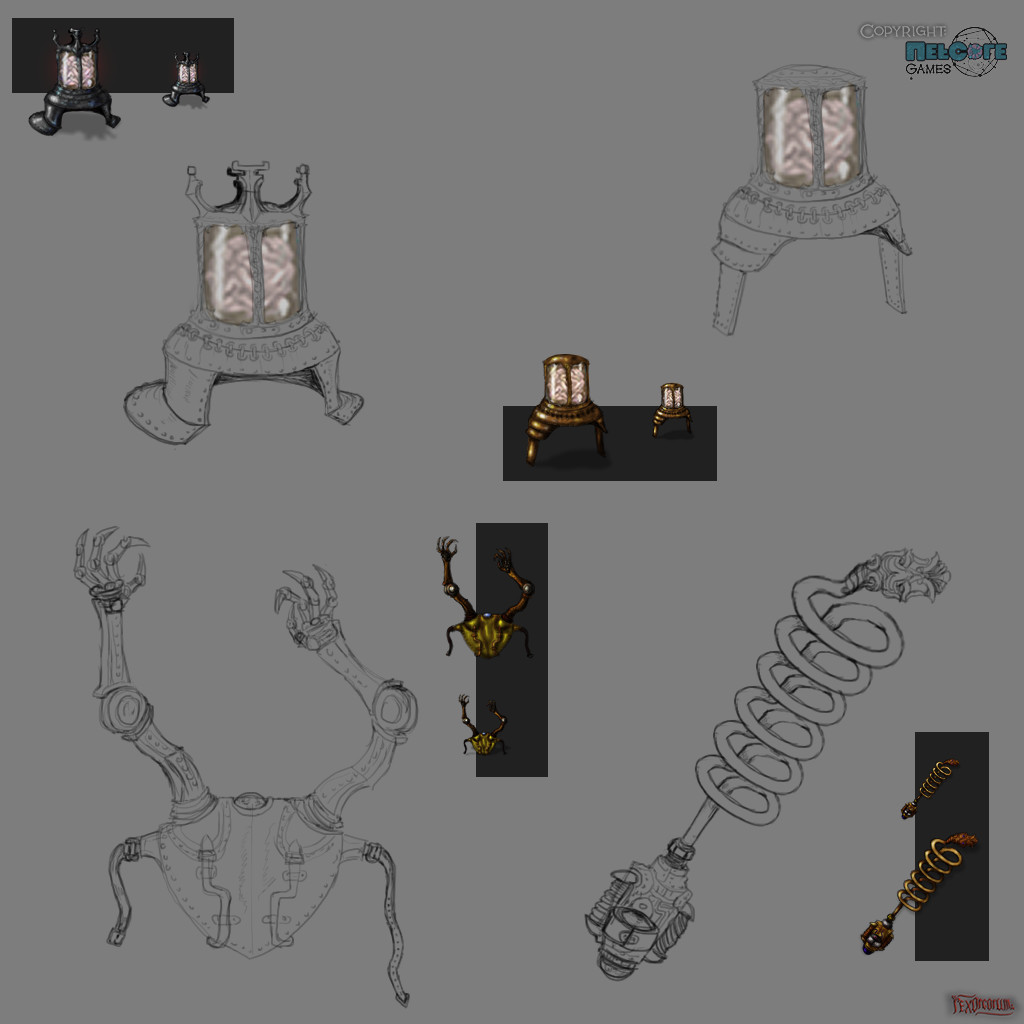 Various tinkers with bigger concept pics III