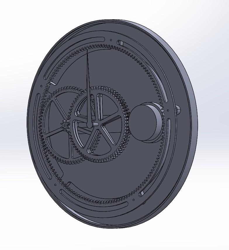 Michiel van ommen 3d model clockwork project