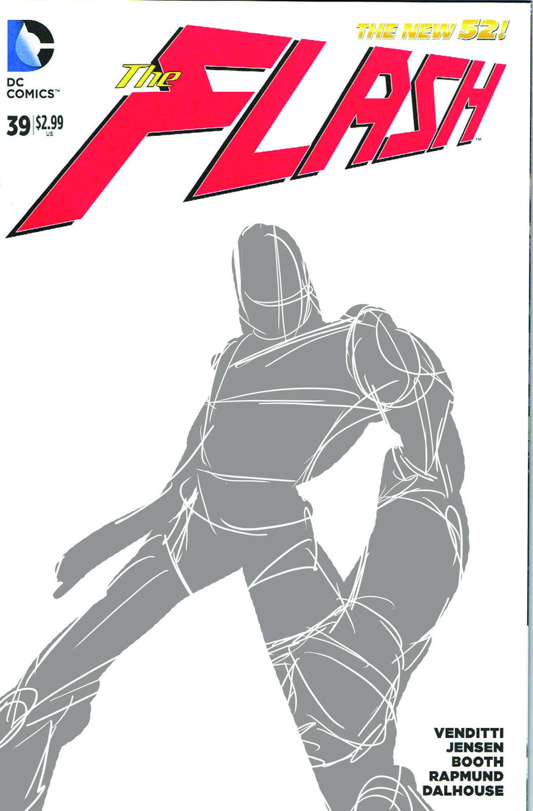 First concept for the blank sketch cover