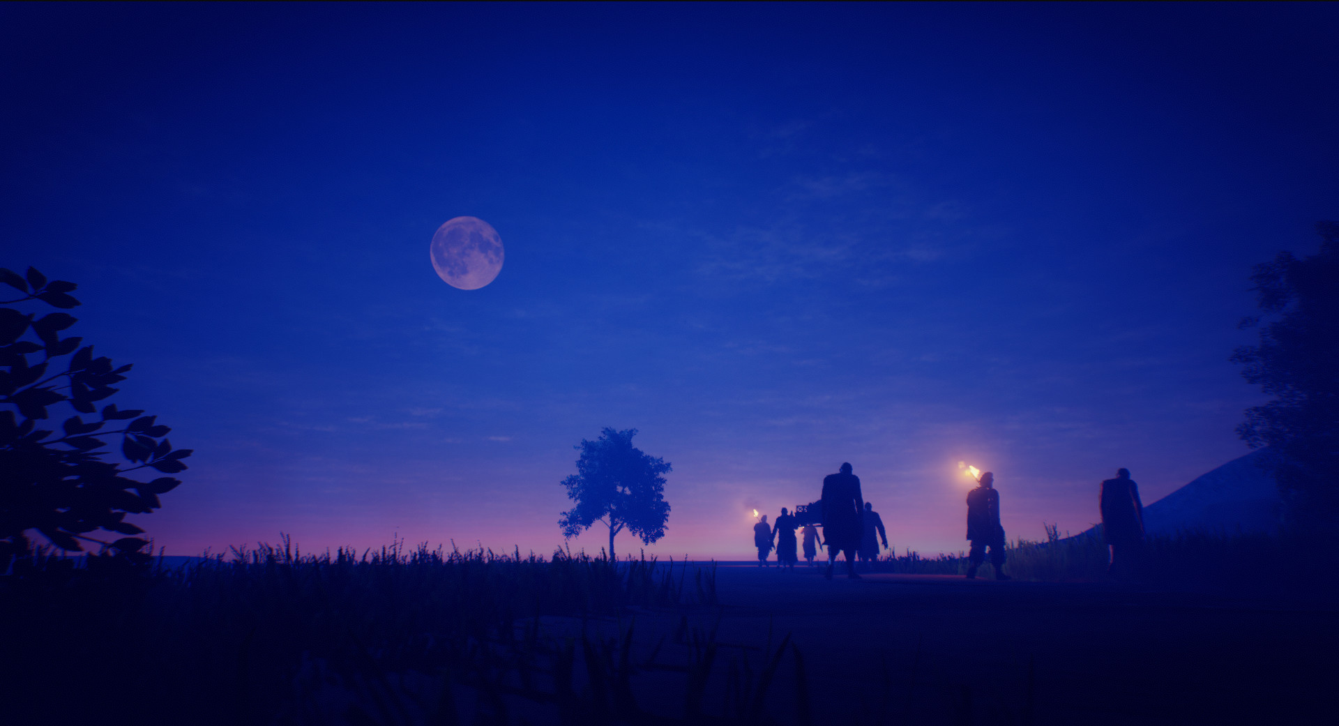 Funeral procession screenshot