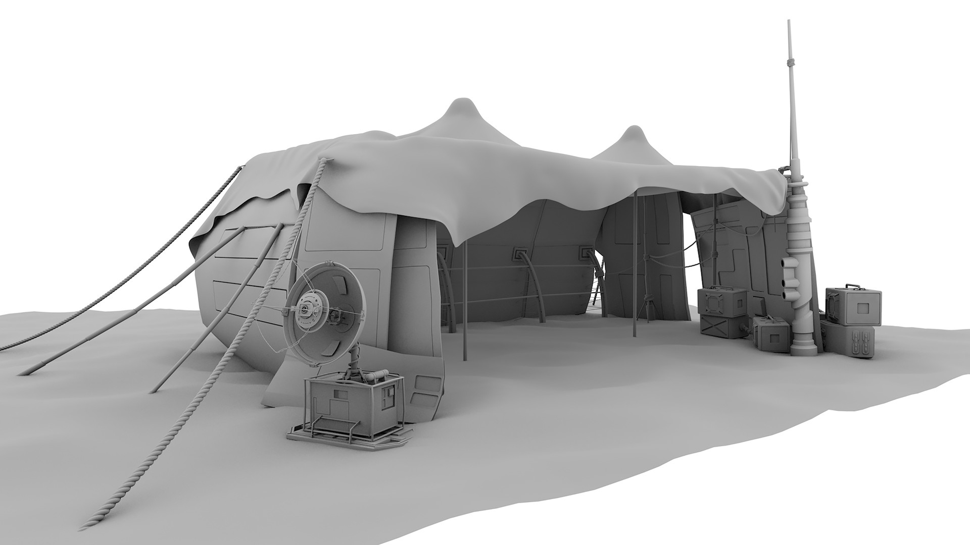 Andy lefton tent wip