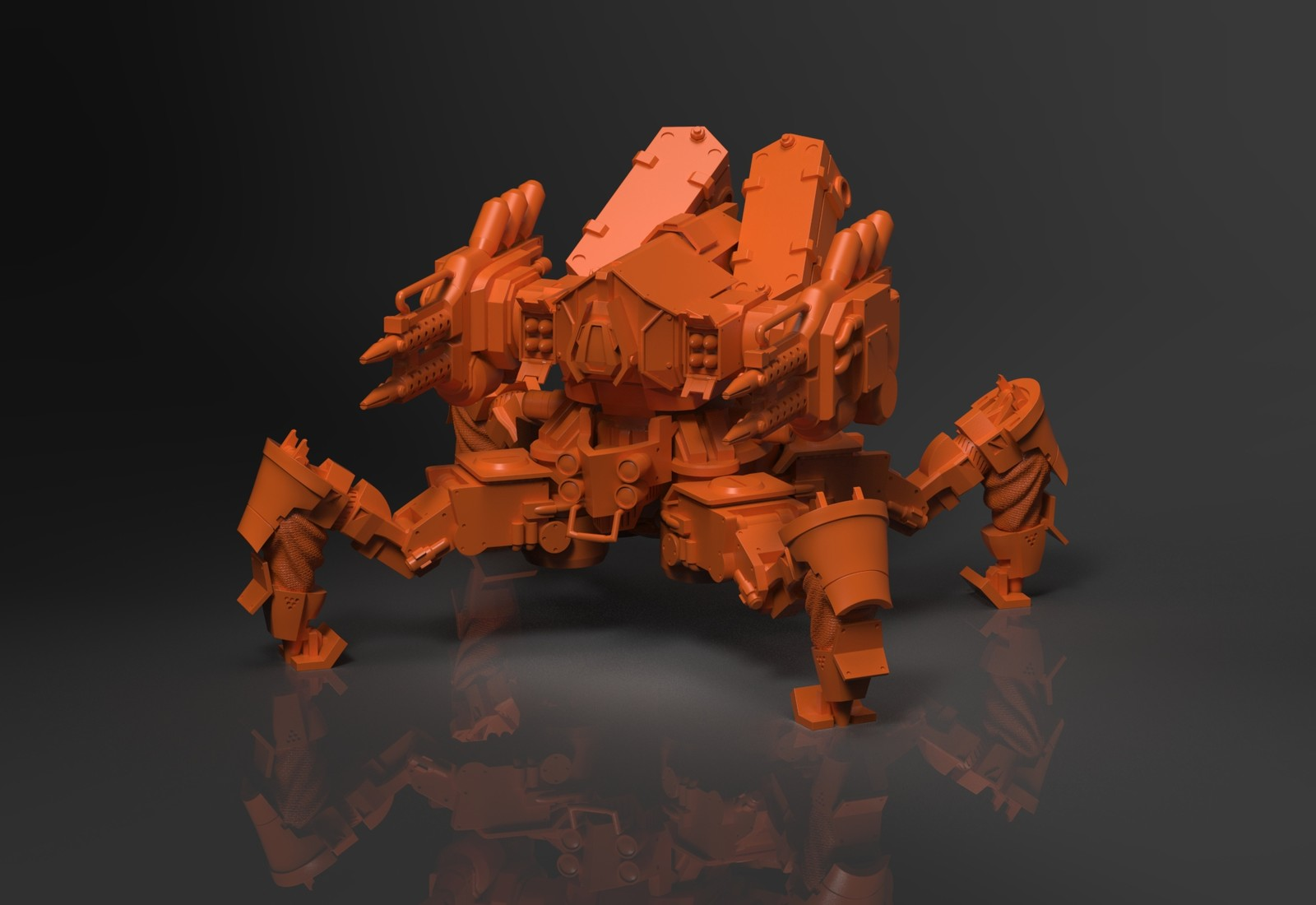 Immortal Kings Spider Mech Model