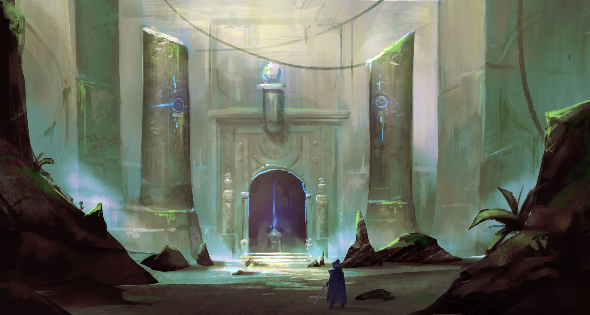 Jeff chen ancient temple