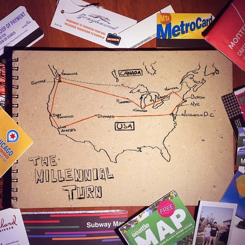 The Millennial Turn Backpacking Sketches