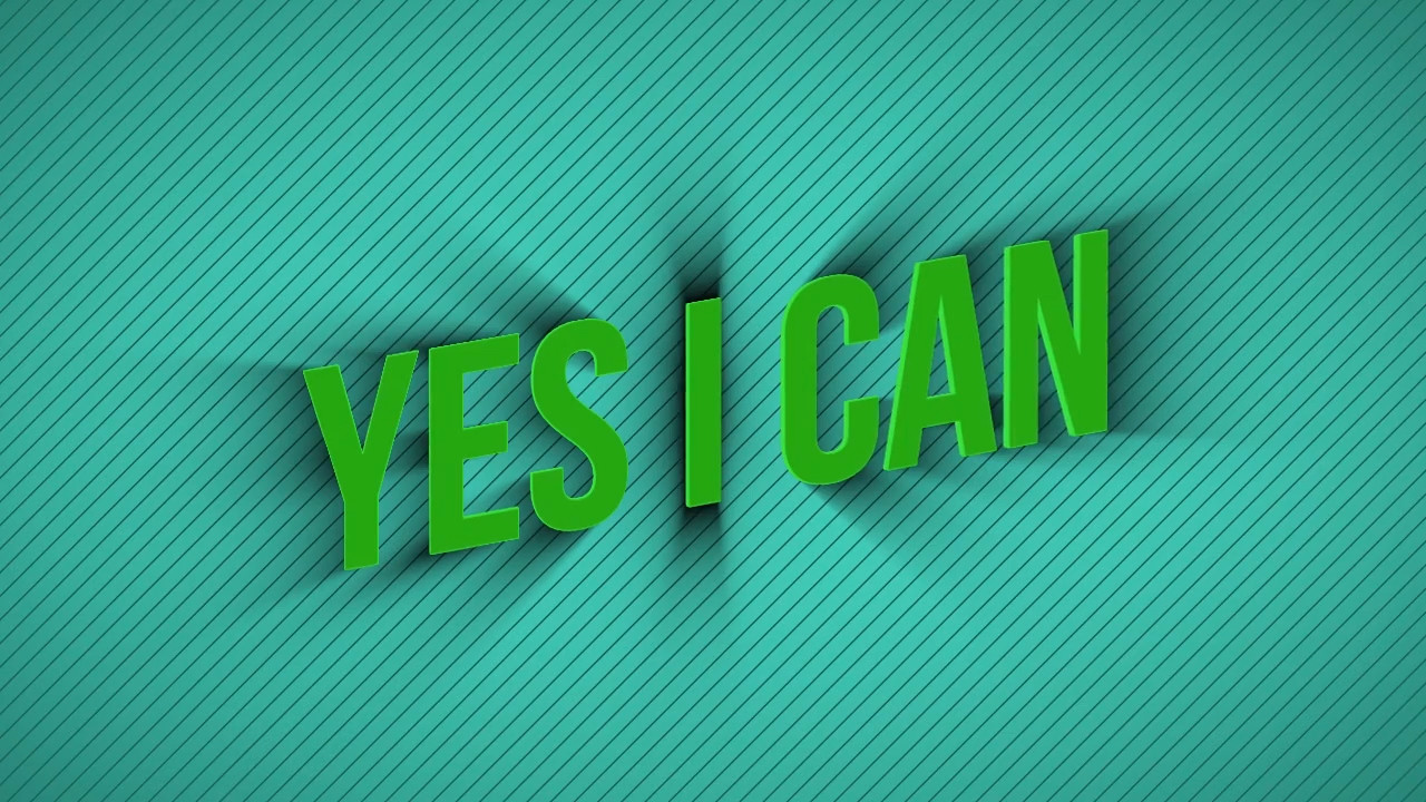 [YES I CAN]