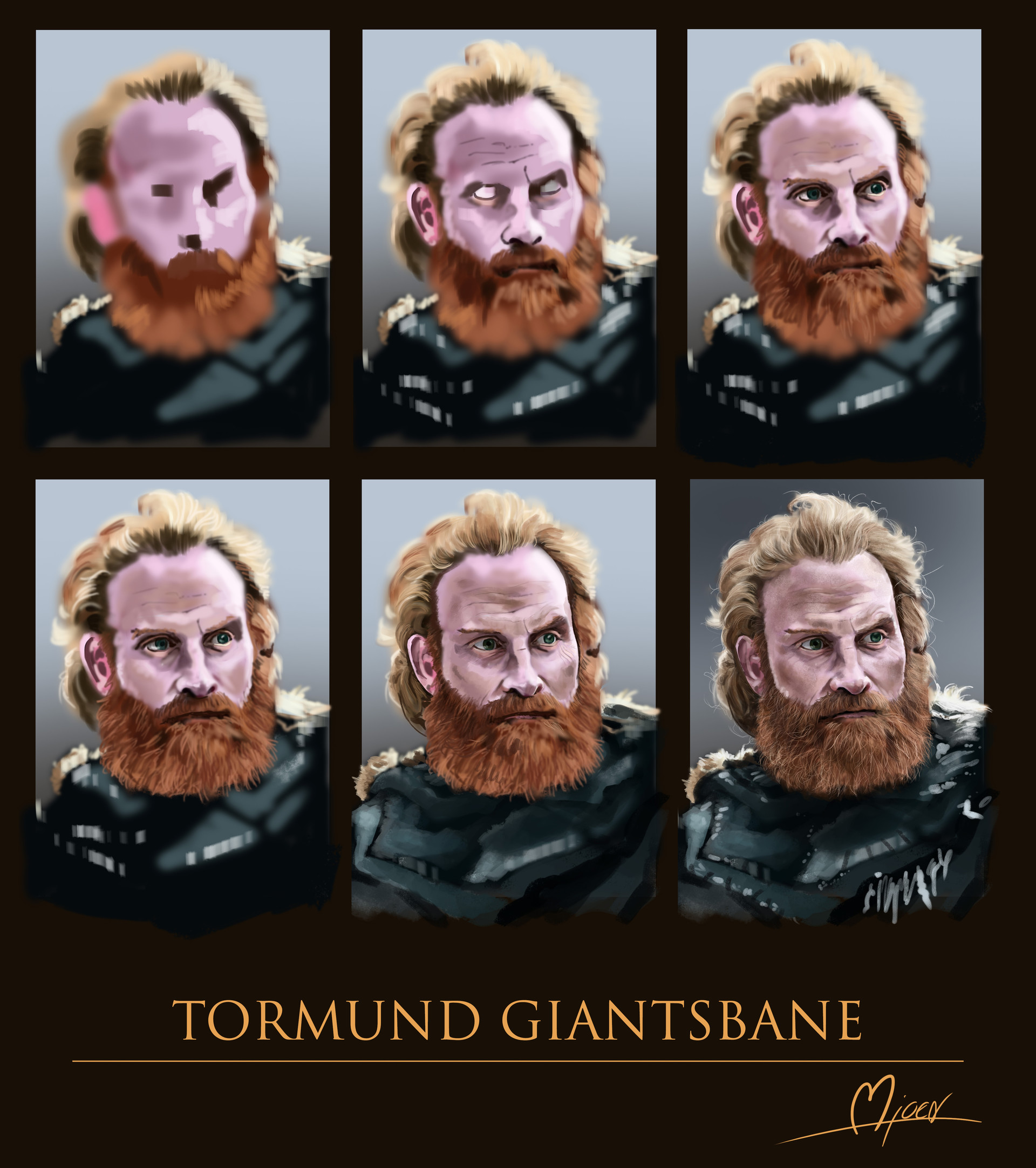 Kyle mjoen tormund progress