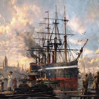 Greg rutkowski karakter design studio kar key anno 1800 harbour cropped