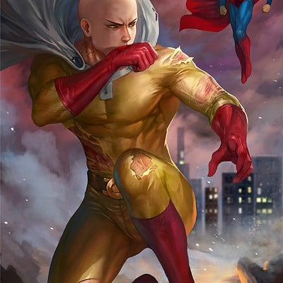 Nopeys norman de mesa saitama vs superman3 merged3