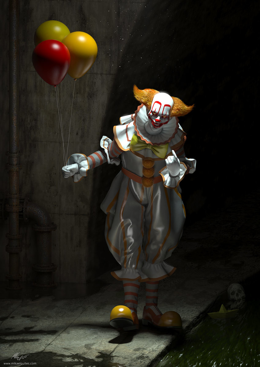 Mikael quites pennywise mikael final