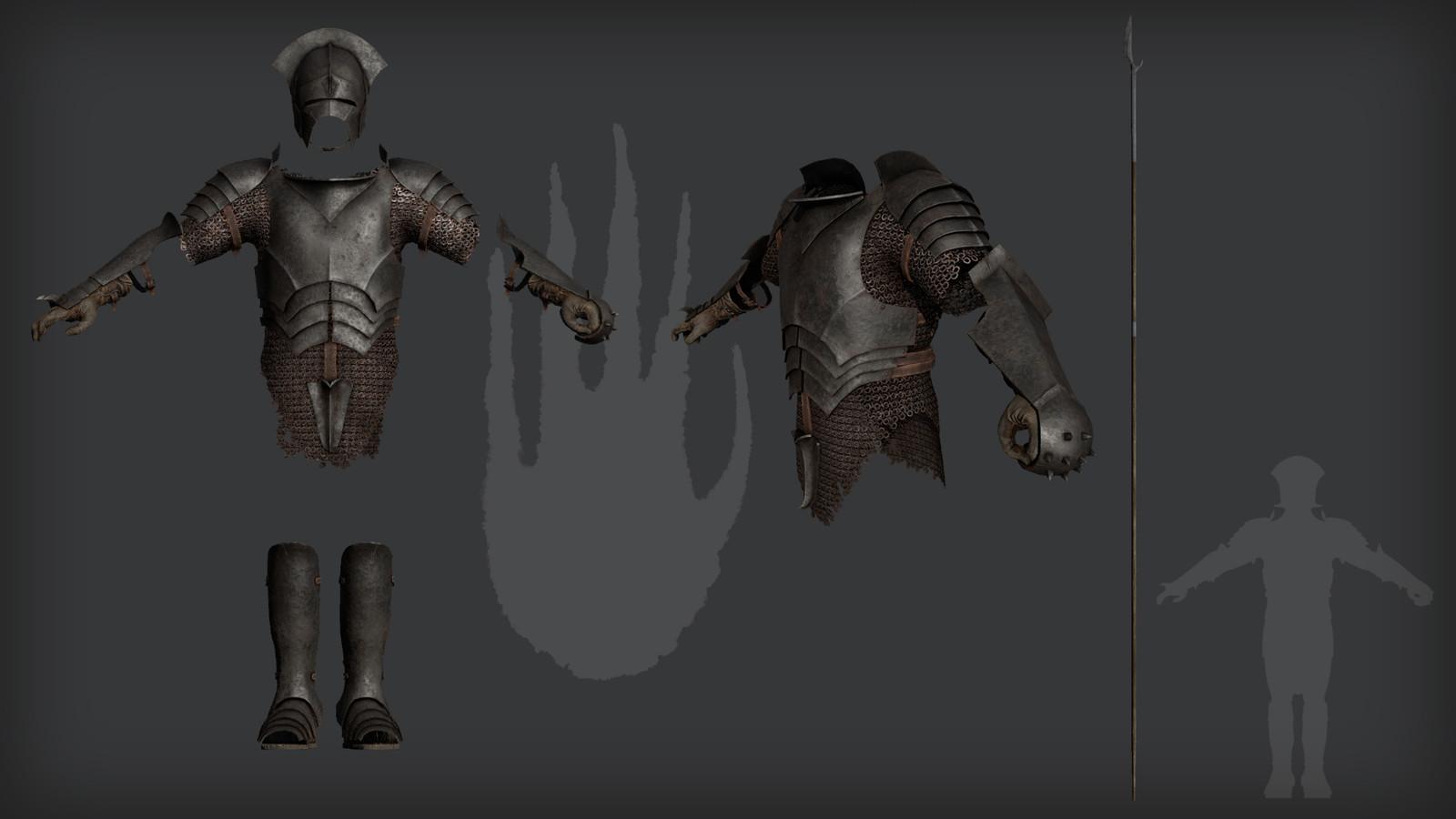 Pikeman rendered in 3DO