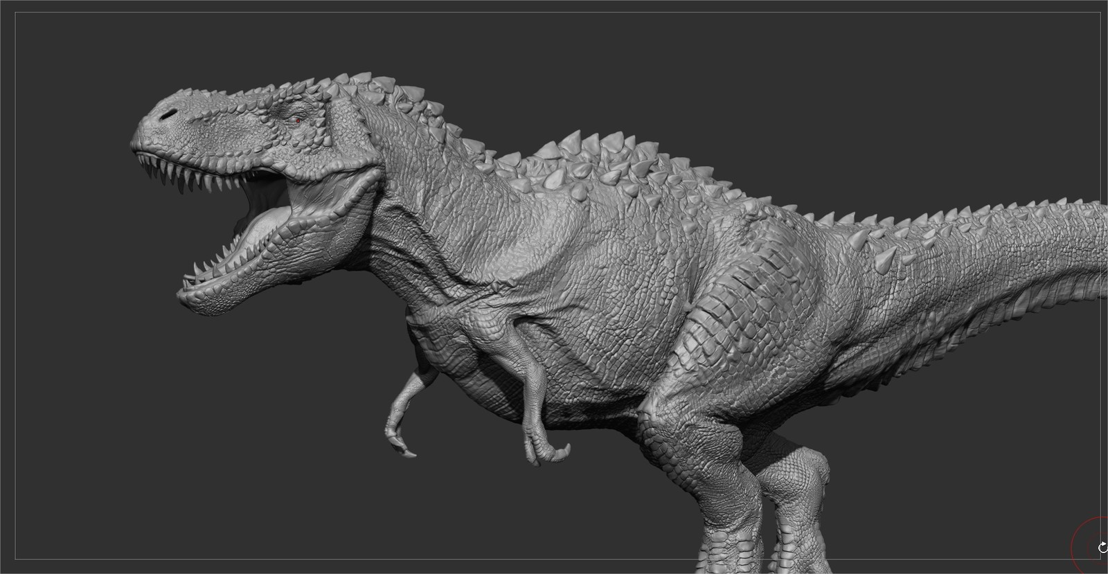Screengrab from zbrush,