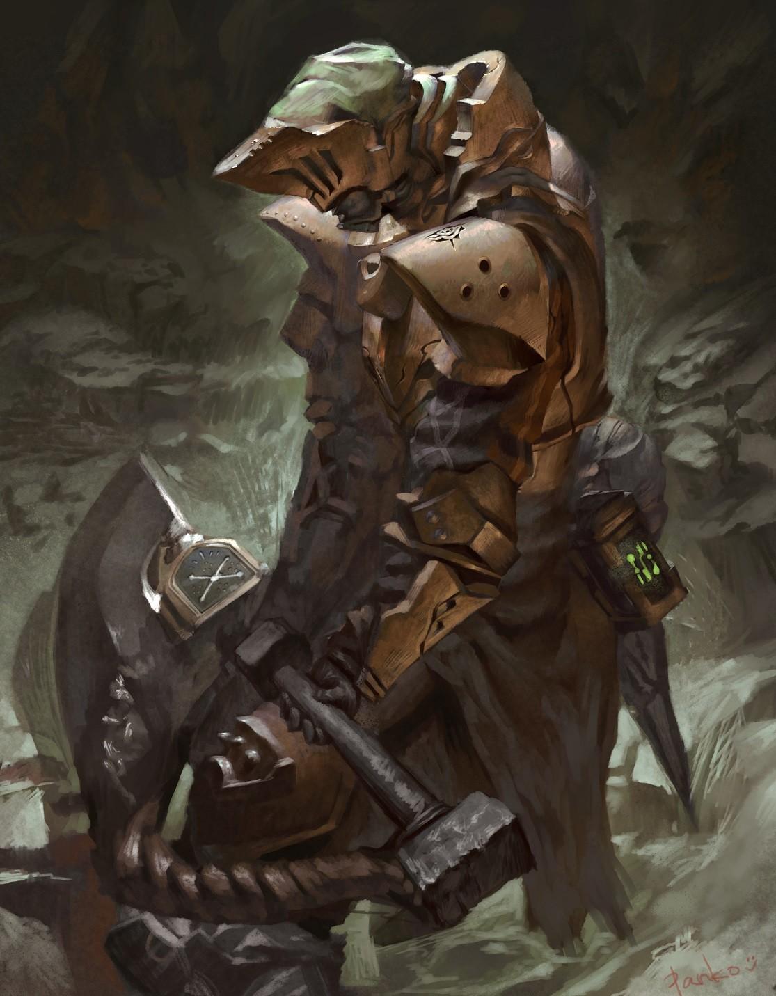 Artstation Monster Hunter World Concept Art Panko
