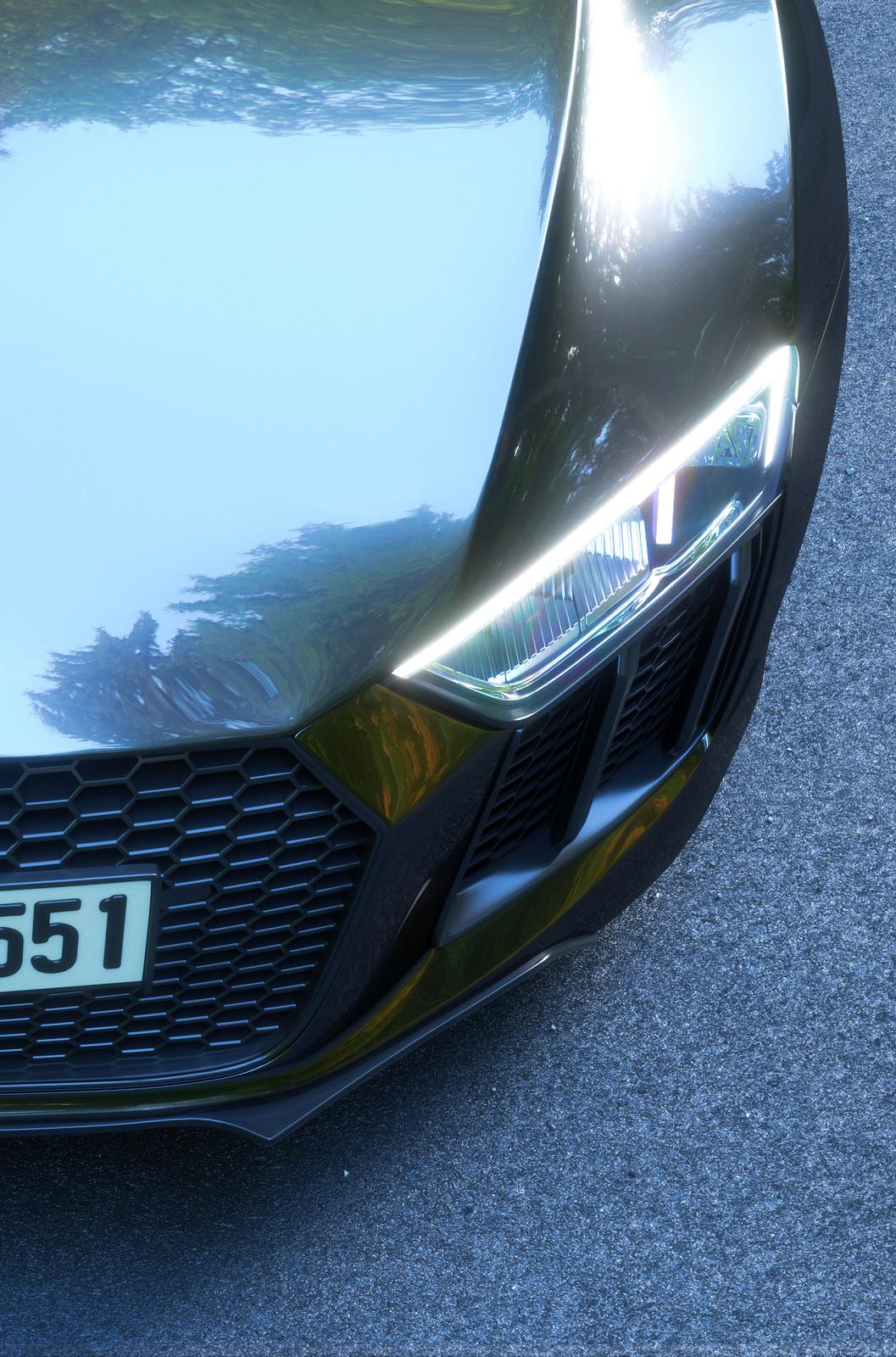 AUDI R8 V10 plus - Full CGI