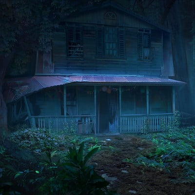 Eddie h hinestroza house in the woods v4