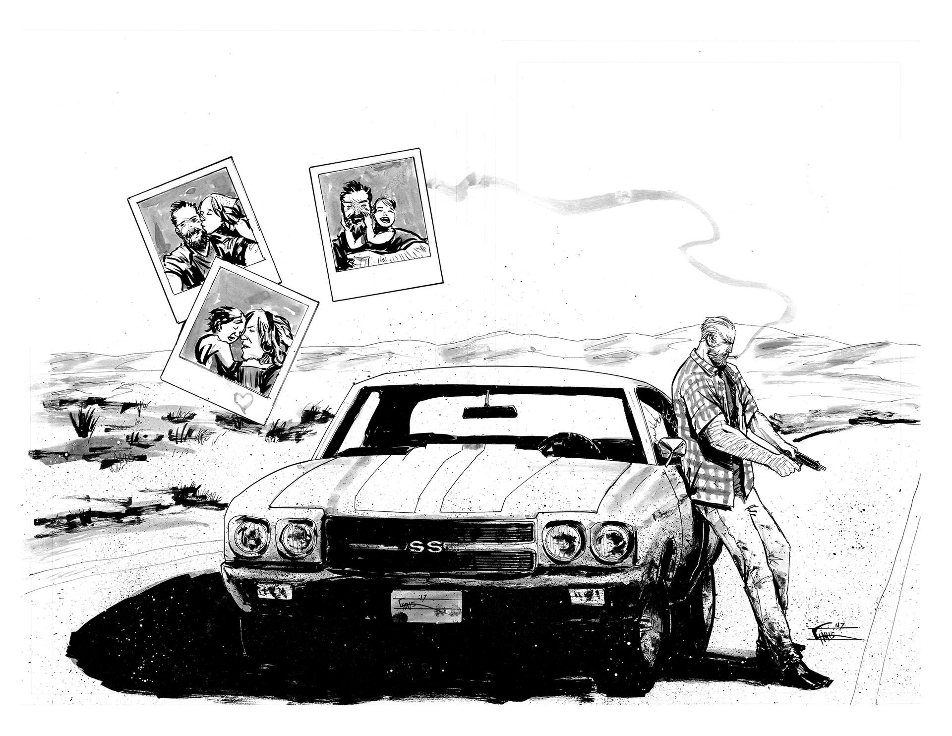 Chris shehan deadbeat cover inks