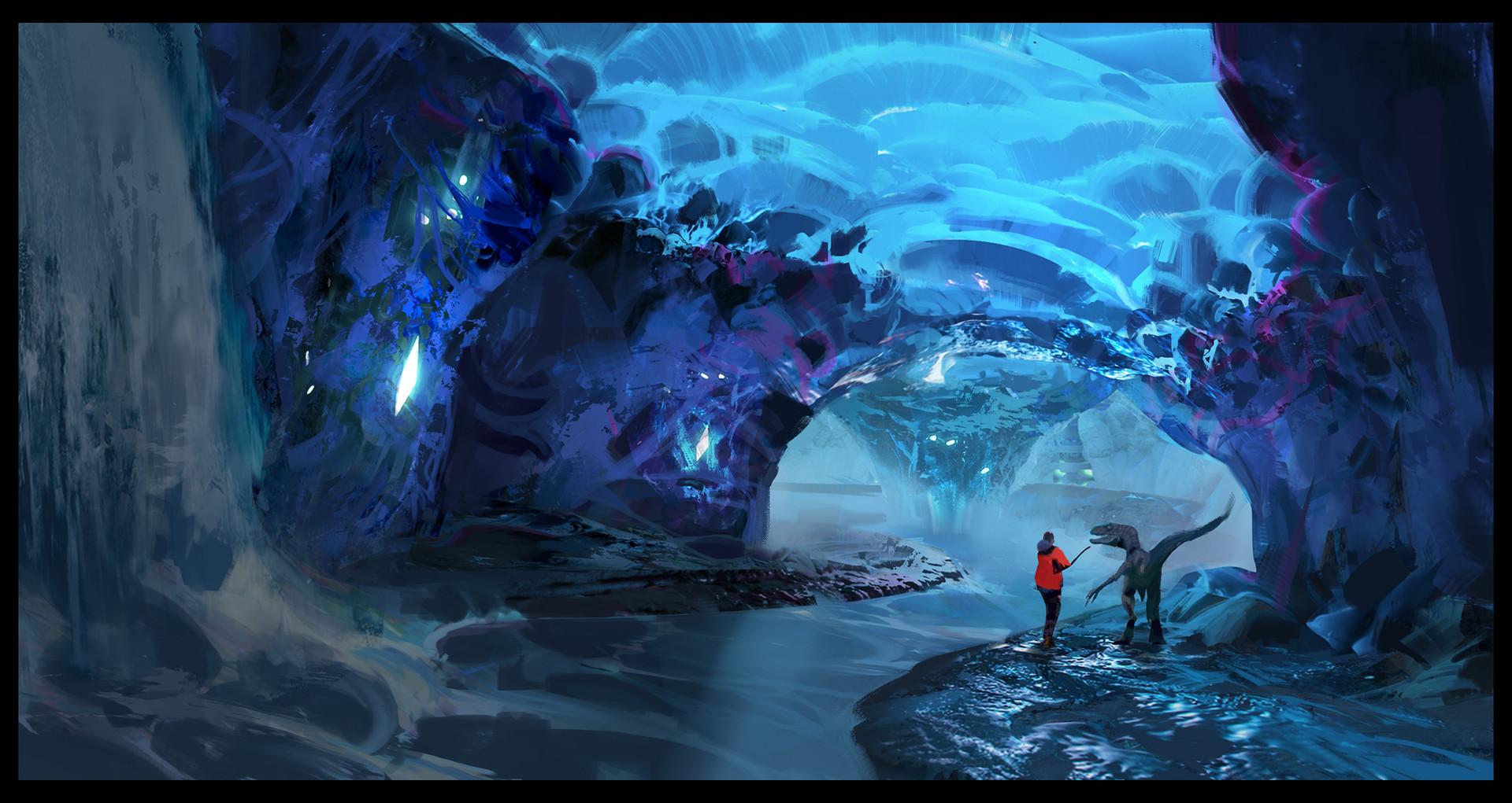 Snow crystal cave ragnarok