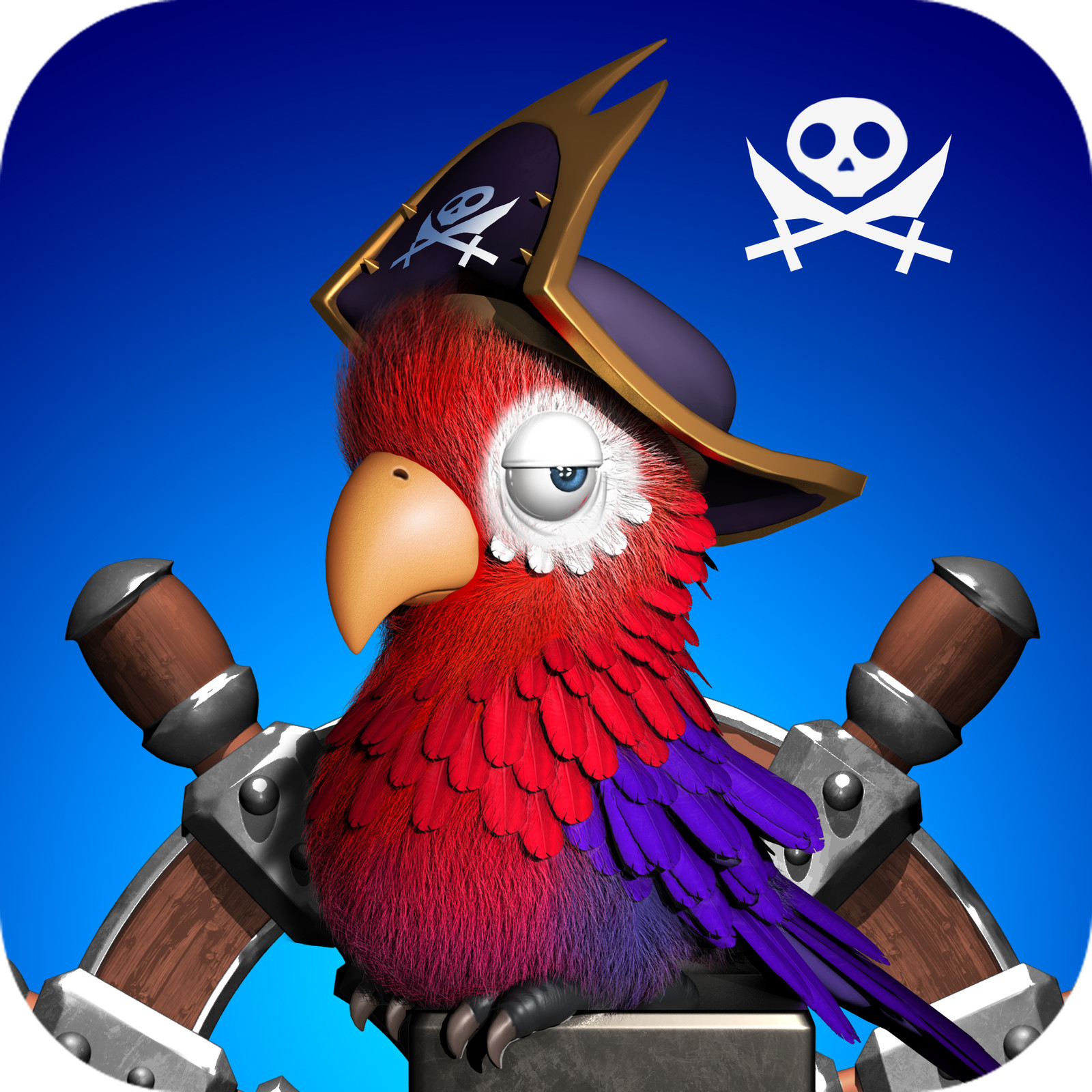 Pirate Macaw