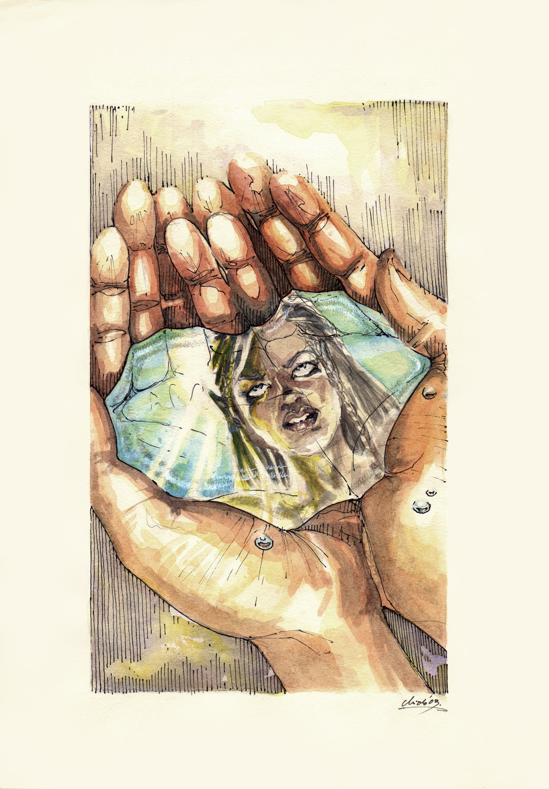 Soul in the palm of the hand