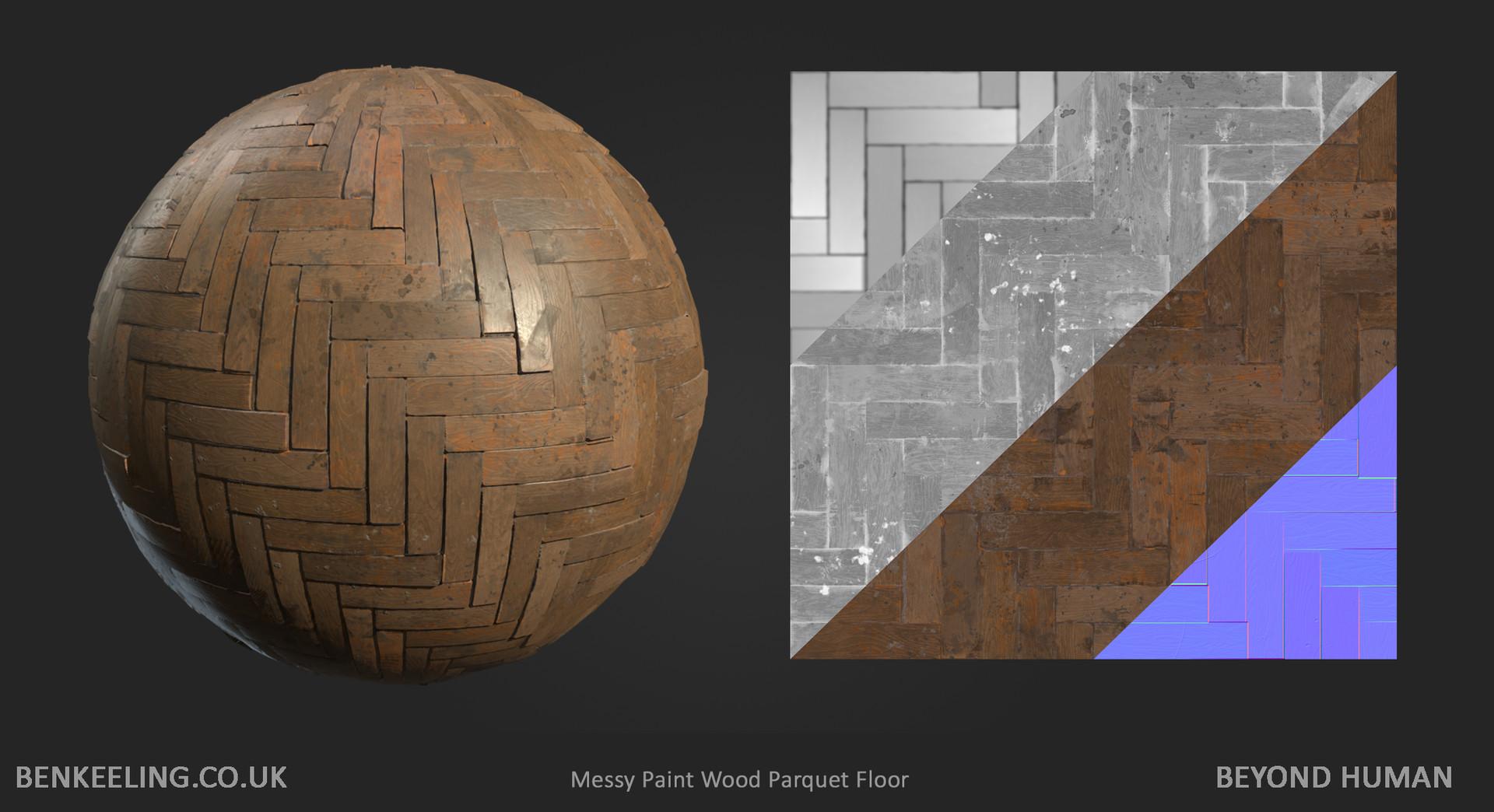 Materials - Messy Parquet Floor