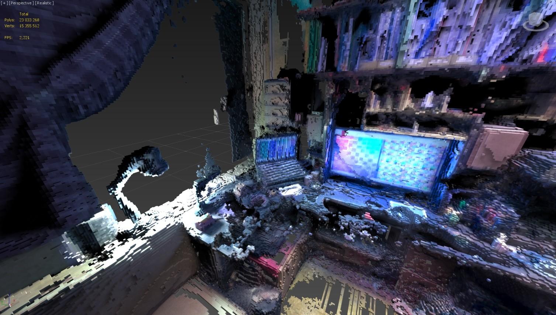 Daedalus system screenshot 2