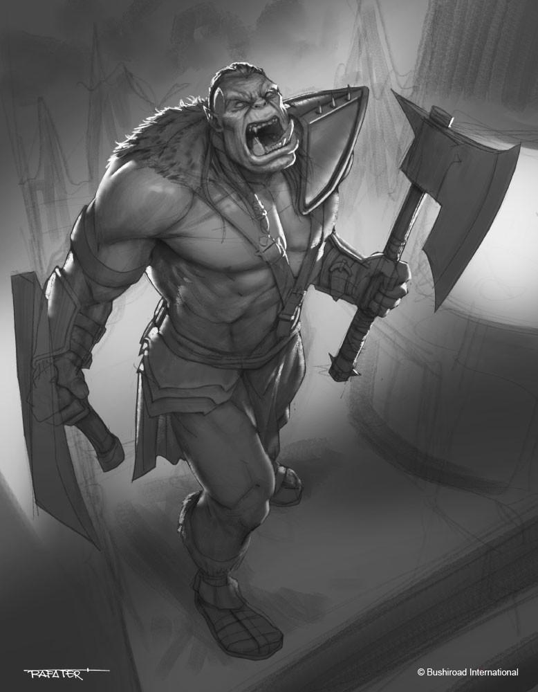 Rafael teruel dragoborne warlord grousk 02 by rafater