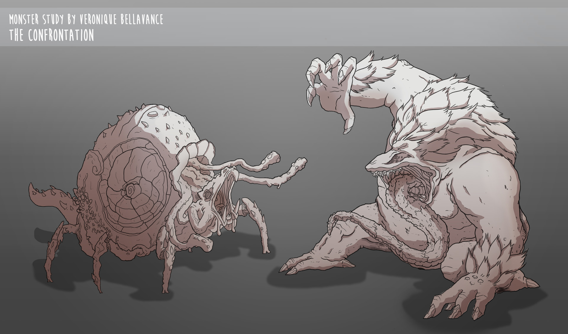 Veronique bellavance monster lineart final