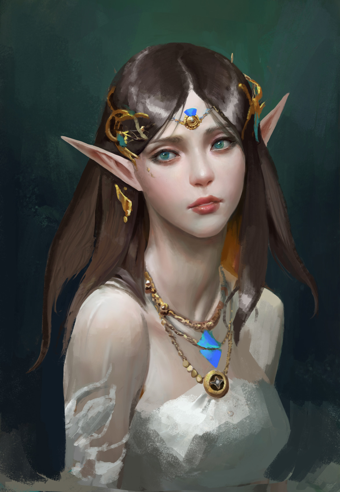 Artstation - The Song Of The Wood Elves, Anima 08-5819