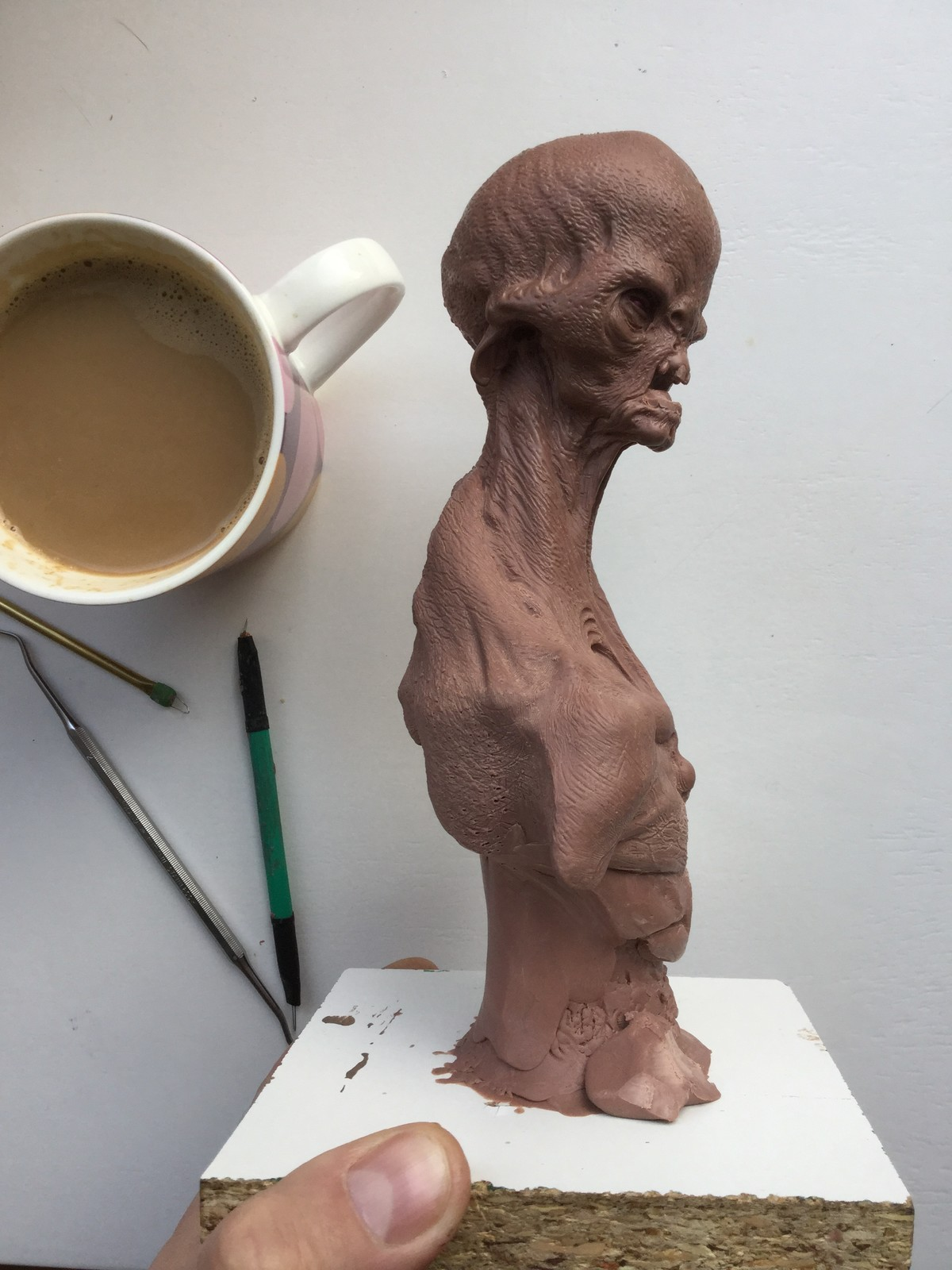 Alien/monster clay/work in progress