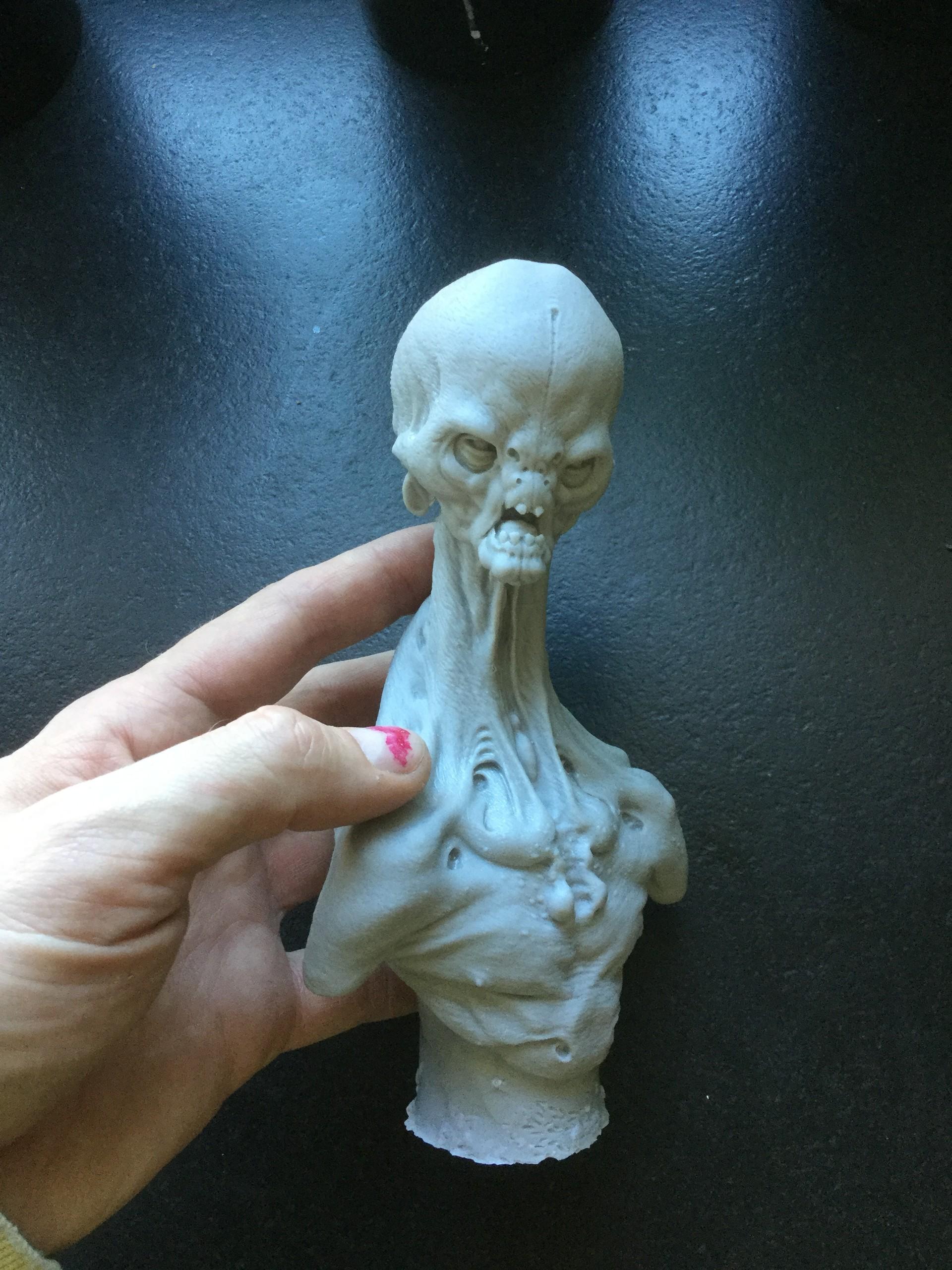 Alien/cast resin