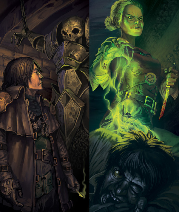 """Illustrations for the pen and paper RPG """"Iron Kingdoms"""""""