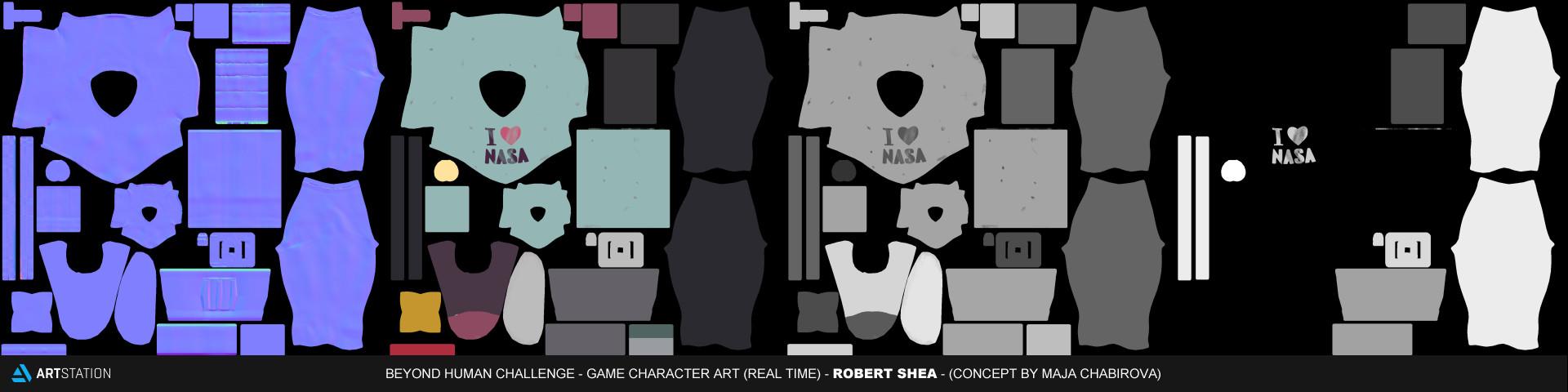 Robert shea clothestextures